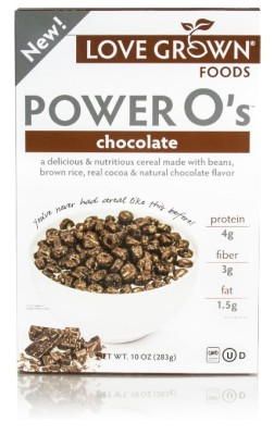 Chocolate Power O's from Love Grown Foods