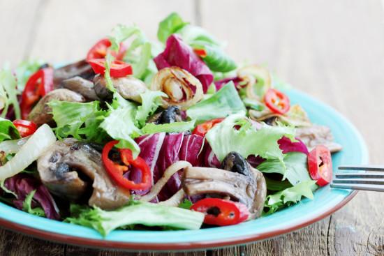 Leafy Green Port Salad
