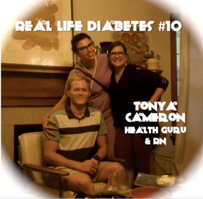 Tonya Cameron, Real Life Diabetes Podcast 10 Diabetes Daily Grind