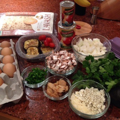 Shashuka Ingredients