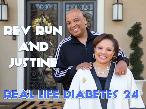 Rev Run and Justine Real Life Diabetes Podcast 24
