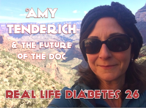 Amy Tenderich - DiabetesMine.com and Real Life Diabetes Podcast